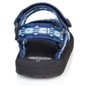 SOURCE Classic Sandals Kids triangles blue